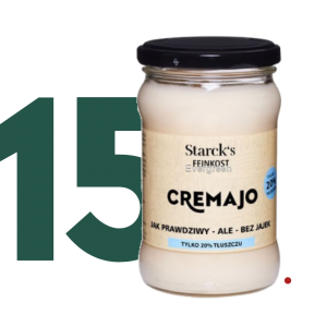 15X MAJONEZ LIGHT 20% CREMAJO 270 G STARCK'S FOOD