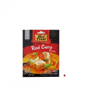 CZERWONA PASTA CURRY 50G REAL THAI